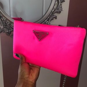 Prada Large Soft Clutch
